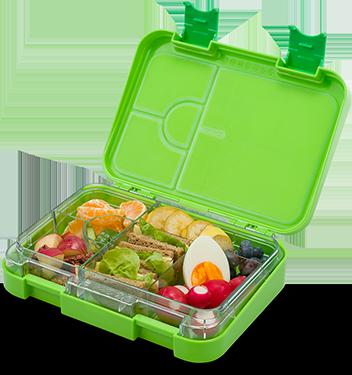 Schmatzfatz junior Lunchbox – grün