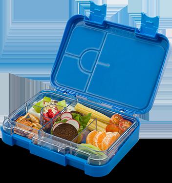 Schmatzfatz junior Lunchbox – blau