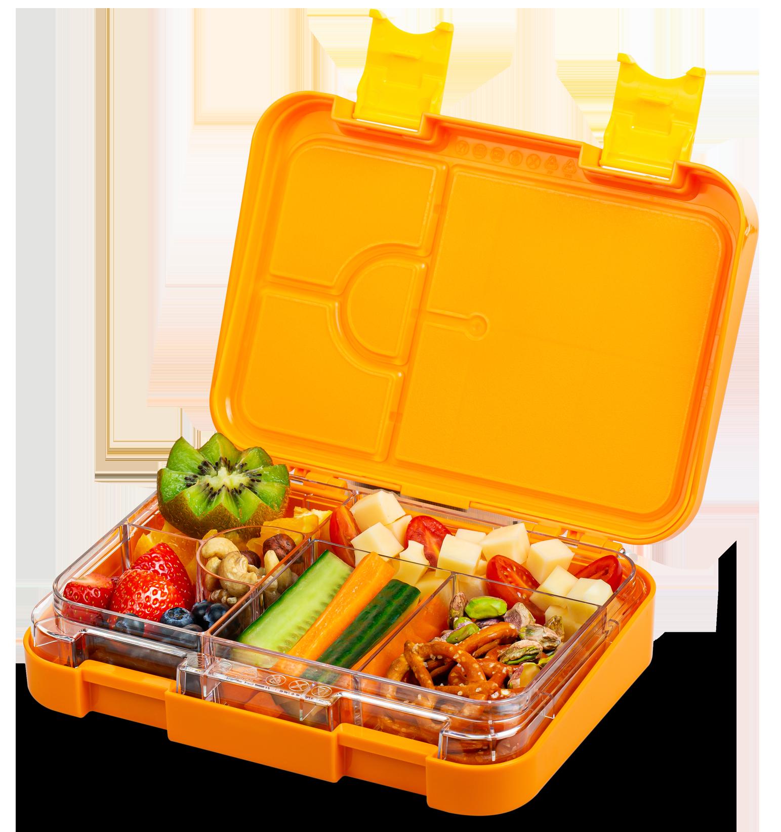 Schmatzfatz junior Lunchbox – orange