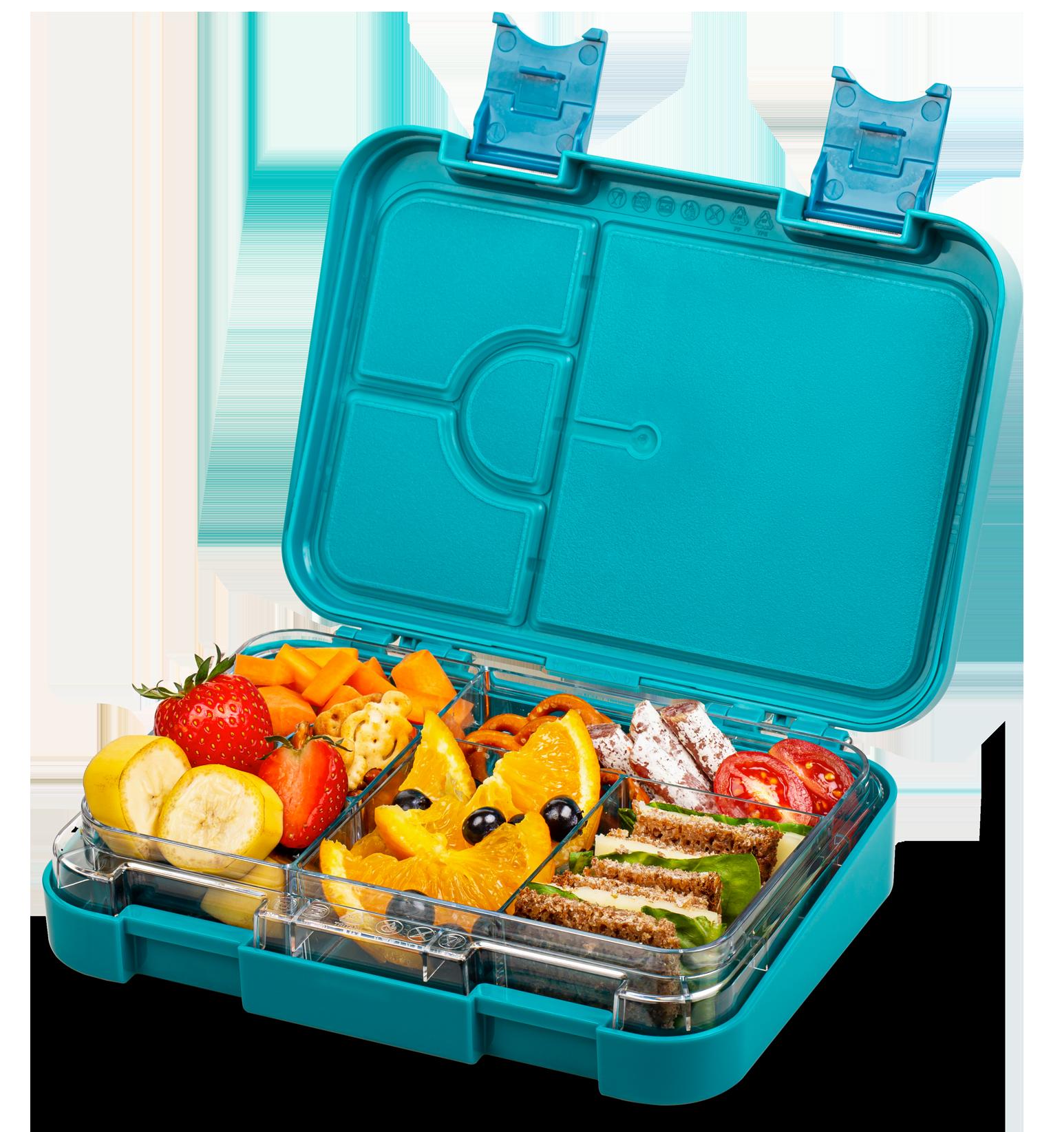 Schmatzfatz junior Lunchbox – petrol