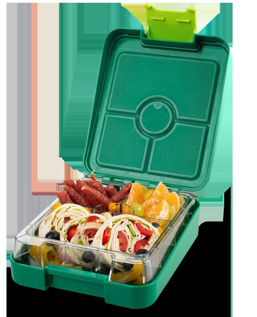 Schmatzfatz Snackbox easy – grün
